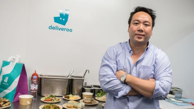 Amazon invest in deliveroo